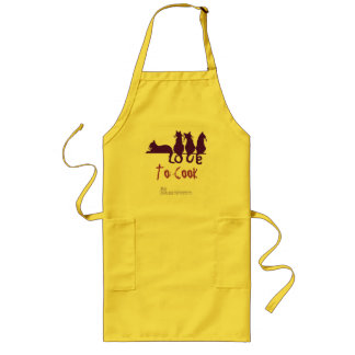 Love To Cook PURR Love Apron