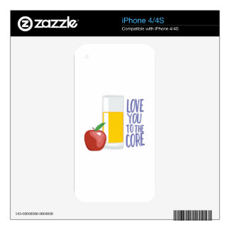 Love To Core Decals For The iPhone 4S