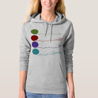 Love to Crochet Design Hoodie