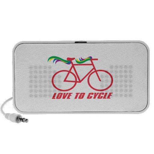 Love To Cycle Mini Speaker