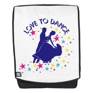 Love to dance backpack