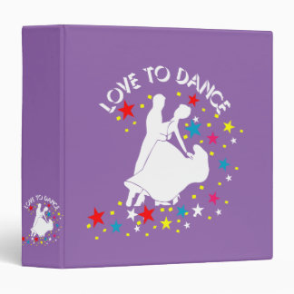 Love to dance binder