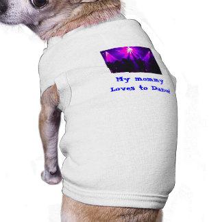 Love to Dance doggie tank w/Dance Party logo Tee