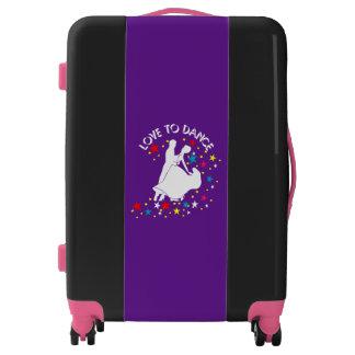 Love to dance luggage