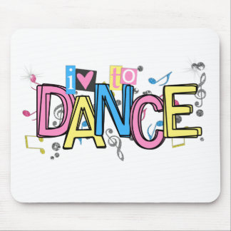 Love to Dance Mouse Pad