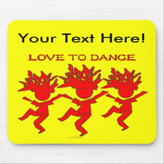 Love To Dance Mouse Pads