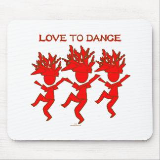 Love To Dance Mousepads