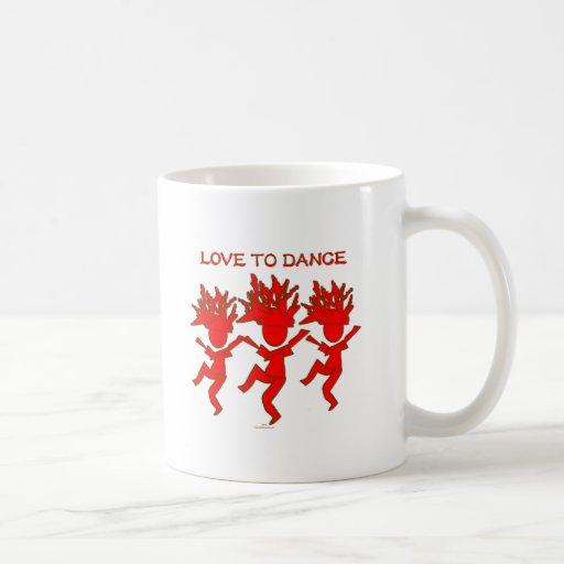 Love To Dance Mugs