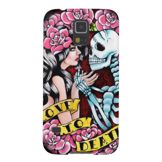 Love to Death Tattoo Flash Painting Galaxy S5 Case