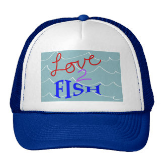 Love-to-Fish Hats