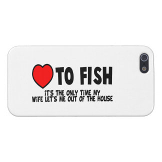 Love To Fish iPhone 5 Case