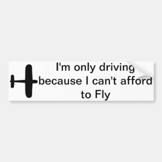 Love to Fly Bumper Sticker