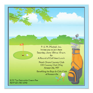 Love to Golf Invitation