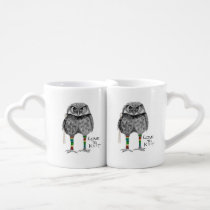 Love to knit coffee mug set