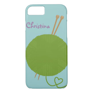 Love to Knit iPhone 8/7 Case