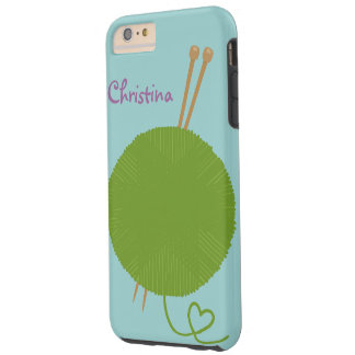 Love to Knit Tough iPhone 6 Plus Case