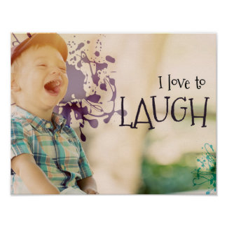 Love To Laugh by Inspirational Downloads Poster