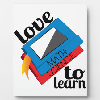 Love To Learn Plaque