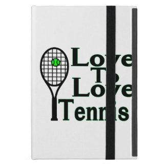 Love To Love Tennis Case For iPad Mini