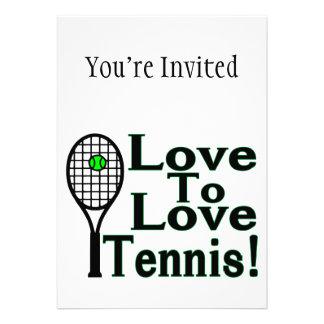 Love To Love Tennis Announcements