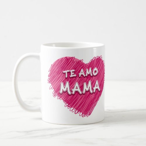 Love to mother coffee mug