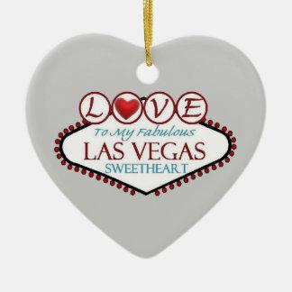 LOVE to My Fabulous Las Vegas Sweetheart Ornament