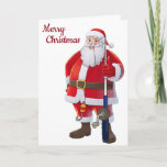 **LOVE TO MY FAVORITE FISHERMAN** AT CHRISTMAS HOLIDAY CARD