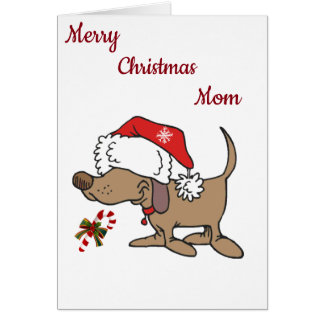 **LOVE TO MY FAVORITE MOM** AT CHRISTMAS CARD