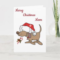 **LOVE TO MY FAVORITE MOM** AT CHRISTMAS HOLIDAY CARD
