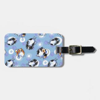 Love to Parti Pomeranians Luggage Tag