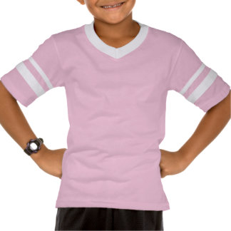 Love To Play Soccer in Pink T Shirt