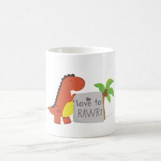 love to RAWR! Coffee Mug