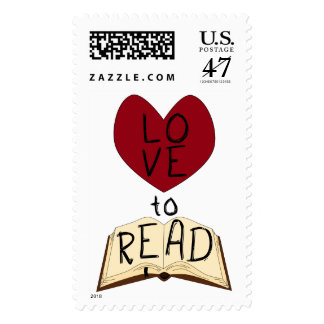 Love to Read Postage