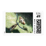 Love to Ride Postage Stamp