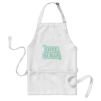 Love to Scrap Tshirts and Gifts Adult Apron