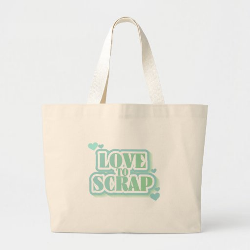 Love to Scrap Tshirts and Gifts Canvas Bags
