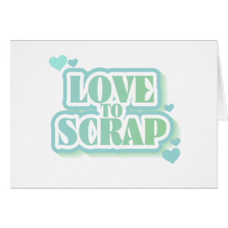Love to Scrap Tshirts and Gifts Card