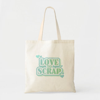 Love to Scrap Tshirts and Gifts Tote Bag