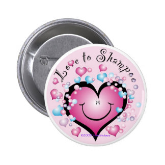 Love to Shampoo Button ©StyleStickers™