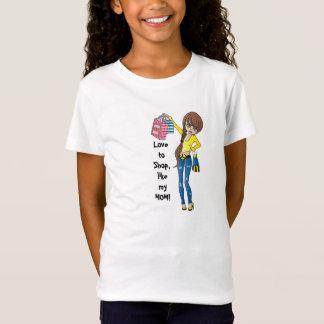 Love to Shop, like my MOM! T-Shirt