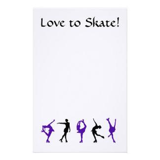 Love to Skate - Figure Skating Stationery
