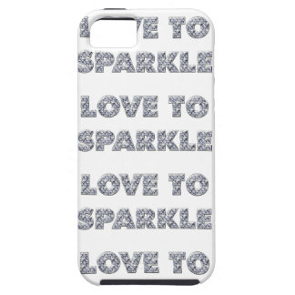 Love To Sparkle iPhone SE/5/5s Case