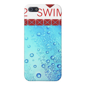 LOVE TO SWIM IPHONE COVER