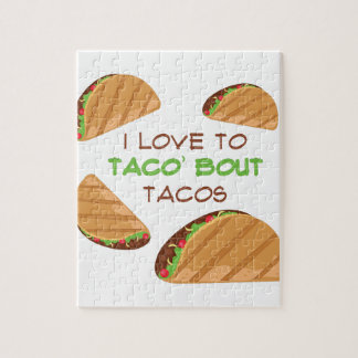 Love To Taco Jigsaw Puzzle