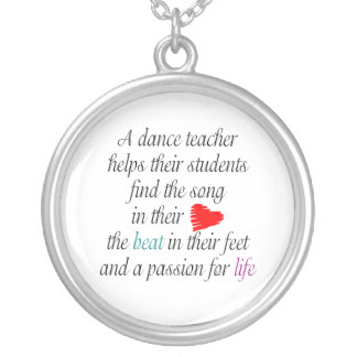 Love to Teach Dance Necklace