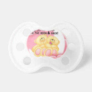 love to the moon and back pacifier