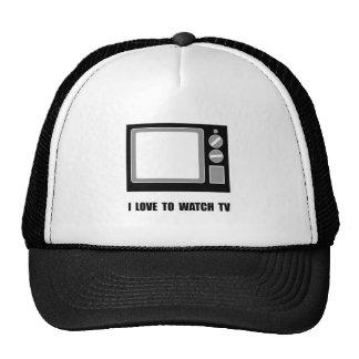 Love To Watch TV Trucker Hat