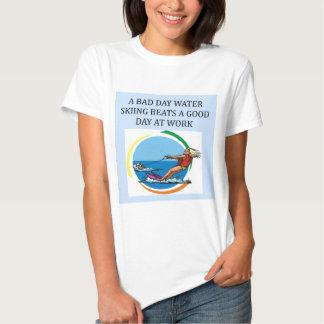 love to water ski tshirts