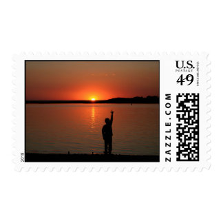 Love to You Sunset Stamp