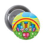 Love Tokyo Button Pins